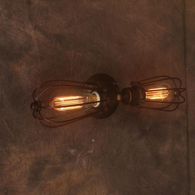 lampadari stile industriale da parete : da parete vintage lampada americano stile industriale lampade edison ...