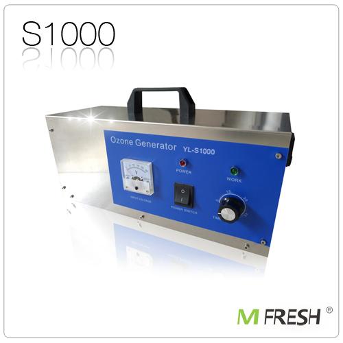Mfresh YL-S1000 Ozone generator /water air purifier+Free shipping(China (Mainland))