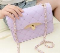2014 Vintage Plaid Small bags Fashion Preppy style women's one shoulder cross-body Bag bolsa feminina bolso sacs saco borsa