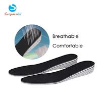 1Pair Men/Women Comfortable Memory Foam Eva Height Increase Elevator Heel lifts Shoe Insole Inserts Pad