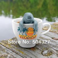 Free Shipping 5Pieces Manatea Infuser / Manatee Mana Tea Strainers