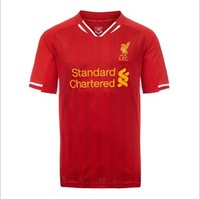 13 - 14 liverpool jerseys homecourt red jersey