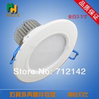 Beautiful!!AC100~260V  pure white/warm white LED Ceiling LED Down lights LED downlight,white  led down light