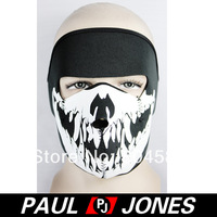 Free Shipping Unisex Men Women Wolf Skull Design Winter Warm Cycling Ski Full Face Mask QX560