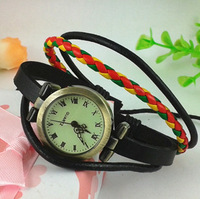 Fashion genuine leather belt vintage table scale women's digital watch fashion watch ladies watch