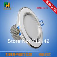 3W/5W/7W/9W,AC100~260V  pure white/warm white LED  lights LED Down lights LED downlight,white shell led down light