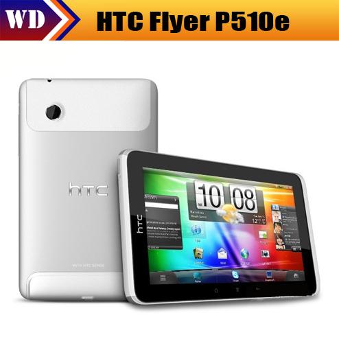 P510E Original HTC Flyer P510e 3G Android Tablet PC WIFI 5MP GPS internal 16GB storage 1GB RAM Free shipping(China (Mainland))