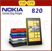 "4.3"" Original Lumia 820 Nokia Windows Phone 8 ROM 8GB Camera 8.0MP Nokia 820 Mobile Phone Freeshipping"