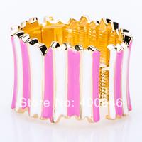 Arinna jewelry Free Shipping 2014 fashion Jewelry High Fashion pink Bangle and bracelets B1888#1