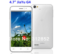 "JIAYU G4 MTK6589T Quad Core phone 1.5GHZ 2G RAM 32G ROM 4.7"" IPS gorilla glass Android 4.2 Smart phone Support OTG Via EMS"