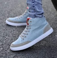 Limited edition fashion canvas shoes spring and summer japanese lacing men's vintage fashion sports casual skateboard shoes