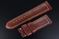 OP009 Italian Calfskin Leather Watch Straps 24mm for Panerai Watchband