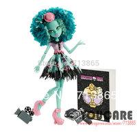 Monster High Frights, Camera, Action! Honey Swamp Doll, Genuine Original Monster High Doll