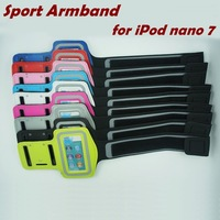 New 2014 Gym Yoga Cycling Sports Holder Bag Running Armband Case Cover for Apple iPod nano 7 7th
