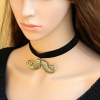 Diy vintage royal pearl lace necklace pendant short necklace fashion accessories female fashion