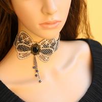 Diy lace necklace fashion necklace romantic accessories sweet short design pendant chain
