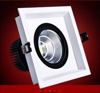 Free shipping New 7W LED COB LIGHT LED Grille Lamp Super bright led light
