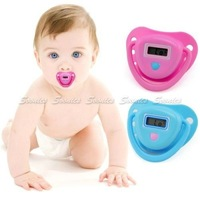Safe Baby Infant Digital Nipple Pacifier Soother Thermometer Temperature Tester Free Shipping & Drop Shipping