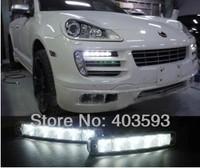 60% off 10w LED daytime running light Aluminium housing DRL waterproof LED car lights super white 12v universal