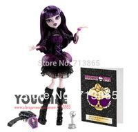 Monster High Frights, Camera, Action! Elissabat Doll, Genuine Original Monster High Doll,Free shipping