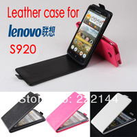 For Lenovo S920 Case,New High Quality Genuine Filp Leather Cover Case For Lenovo S920 case Free Shipping