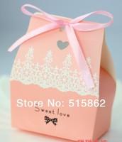 Hot Sale  Free Shipping 100pcspcs/lot Wedding Favor Boxes Gift box Candy box