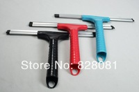 PP Material Eco-freindly Durable using High quality Windows Glasses cleaner Hand squeegee of Blud and white color