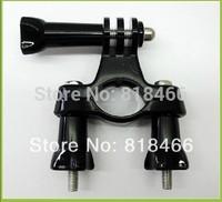 free shipping HOT sale GoPro GP01 Accessories Bike Handlebar Seatpost Pole Mount for Hero3 hero2 hero1, Max For 4cm Diameter