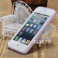 Candy Soft Silicone Cute TPU Gel Case Cover Back Shell Skin Frame Bumper Matte Clear Back Hard Protector For iPhone 5 5S 5G