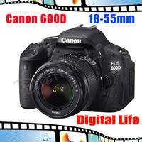 Canon  EOS T3i 600D Digital SLR camera + Canon EF-S 18-55mm f/3.5-5.6 IS II Lens