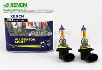 New XENCN HB4 9006 12V 70W 2300K Gloden Yellow Light Car Bulbs Brand High Luminous Flux Fog Halogen Lamp Driving Lights