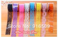 Free ship 1lot=10pcs/korean New fashion lace  washi masking cartoon DIY tape/cute adhesive tape / DIY sticker label/wholesale