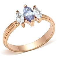 2014 vintage amethyst cubic zirconia ring gold wedding band bijoux Women engagement rings Nickel free