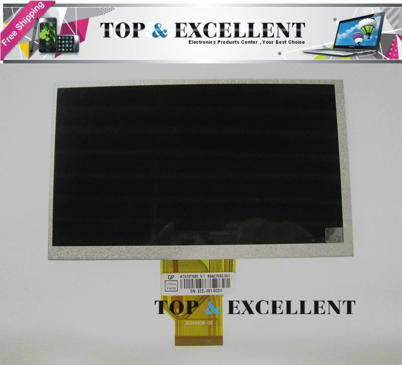 """Original New 7.0"""" LCD AT070TN90 V.1 TFT Touch screen digitizer 800*480 Car PC LCD Screen Display(China (Mainland))"""