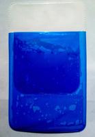 Square gem blue medical pencil case pencil case white coat pen bag drug pencil case