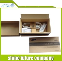 For Samsung galaxy S4 box new box package Paper Packed Packing box with full accessories free shipping