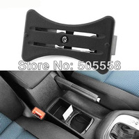 FREE SHIPPING CAR CARD CUP HOLDER COIN SLOT CENTRE CONSOLE FOR VW GOLF MK6 R20