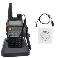Free Shipping!!USB Programming Cable+2013 BaoFeng UV-5RE Dual-Band 136-174/400-480 MHz FM Ham Two-way Radio New Walkie talkie