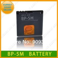 Original Replacement BP-5M 5M Battery For Nokia 3250 6151 6233 6234 6280 6288 6350 N73 N77 9300 9300i N93 N93S Mobile phone