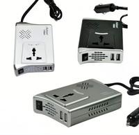 300W In-Car DC 12V to AC 220V Power Inverter USB Socket