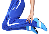 2014 New Fashion Football Pants legs Soccer Training Designer Pants Sports Trousers Brand Men's Active Pants Free shippingQ146