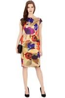 2014 new fashion,temperament,elegant,Brazil style,Sleeveless,waist falbala,graffiti,printing dress,plus size,xxl,free shipping
