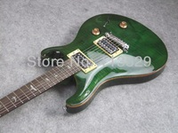 Electric Guitar, Custom 22, Jade, Thick/Solid Flamed Maple Top, High Quality Guitar