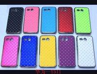 Luxury Bling Diamond Star Hard Back Case Diamond Back Cover For huawei y511 Case
