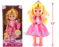 "My First Fairy Tales Princess The Sleeping Beauty Aurora Classic Collection Doll Figure 13""/34cm DP2,Free Shipping"