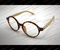 Handmade bamboo retro black-rimmed glasses frame eye glasses tide female male frame can be equipped with the lens frame