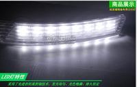 HOT  KIA Forte 12 high power modification LED daytime running light (DRL) ,install in the original position of the fog light