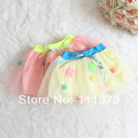 wholesale new arrival girls TuTu skirt high quality lace children skirts 4pcs/lot summer gilr princess clothes free shipping