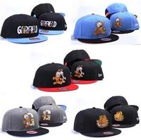 drop  shipping  2014 Garfield garfield cartoon classic adjust cap bboy hiphop hip-hop cap hiphop baseball cap