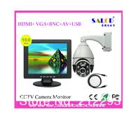 wholesale  !  4:3 ratio 10 inch  hdmi with AV / USB /BNC/VGA in +  1080P HDMI